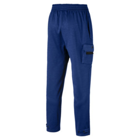 Thumbnail 4 of BND Tech Trackster Men's Sweatpants, Sodalite Blue Heather, medium
