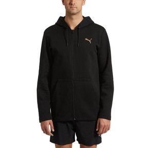 Thumbnail 2 of VENT Zip-Up Hooded Men's Jacket, Puma Black, medium