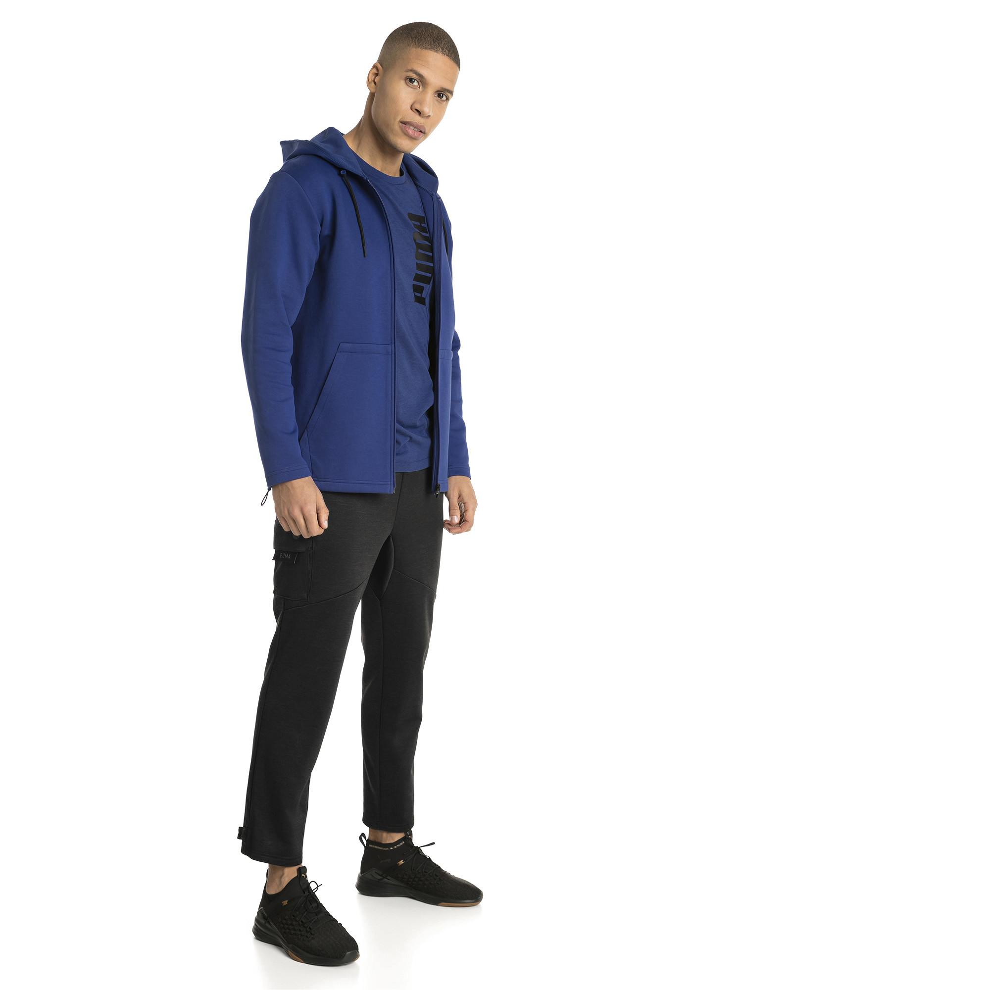 Image Puma VENT Zip-Up Hooded Men's Jacket #3