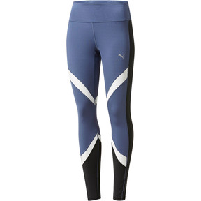 Thumbnail 1 of CLASH Blocking Tights, Blue Indigo-Puma White, medium