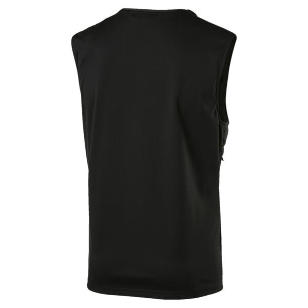 NeverRunBack Men's Protect Vest, Puma Black, large