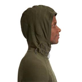 Thumbnail 6 of Energy evoKNIT Full Zip Hooded Running Jacket, Forest Night Heather, medium