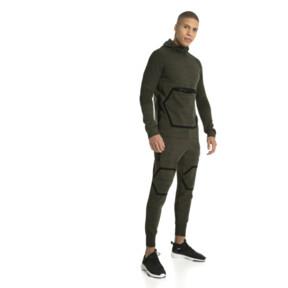 Thumbnail 5 of Energy evoKNIT Full Zip Hooded Running Jacket, Forest Night Heather, medium