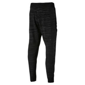 Thumbnail 4 of Energy evoKNIT Trackster Men's Running Sweatpants, Puma Black Heather, medium