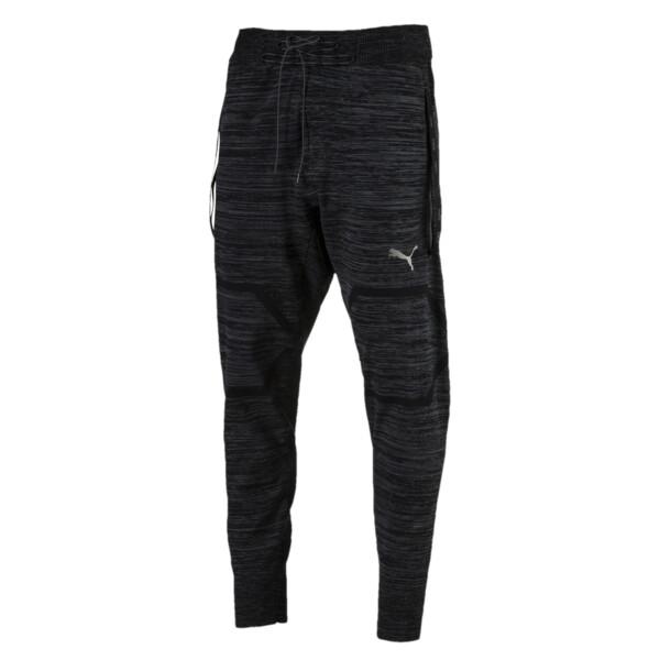 Energy evoKNIT Trackster Men's Running Sweatpants, Puma Black Heather, large