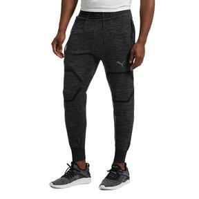 Thumbnail 2 of Energy evoKNIT Trackster Men's Running Sweatpants, Puma Black Heather, medium