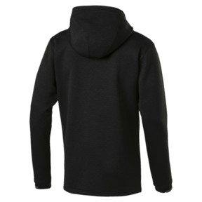 Thumbnail 4 of Energy Zip-Up Hooded Men's Running Jacket, Puma Black Heather, medium