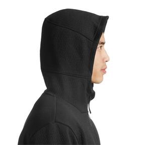 Thumbnail 6 of Energy Zip-Up Hooded Men's Running Jacket, Puma Black Heather, medium
