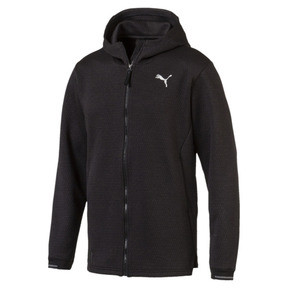 Energy Zip-Up Hooded Men's Running Jacket