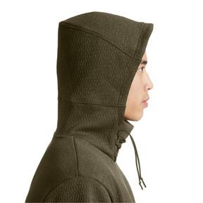 Thumbnail 4 of Training Men's Energy Short Sleeve Hoodie, Forest Night Heather, medium