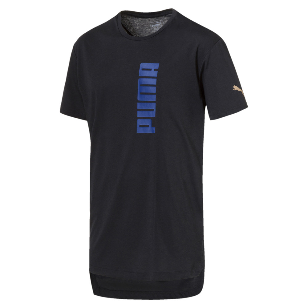 Image Puma Energy Triblend Graphic Men's Running Tee #1