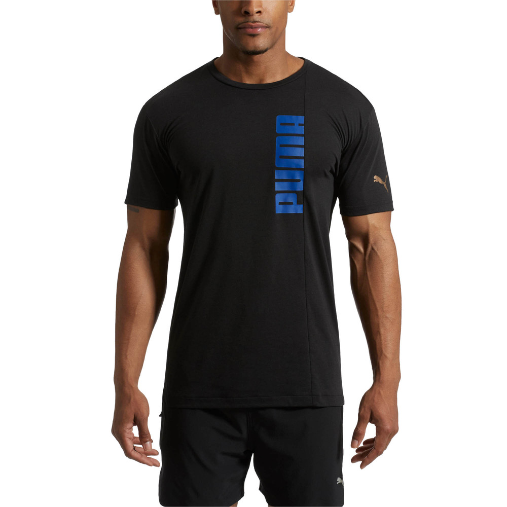Image Puma Energy Triblend Graphic Men's Running Tee #2