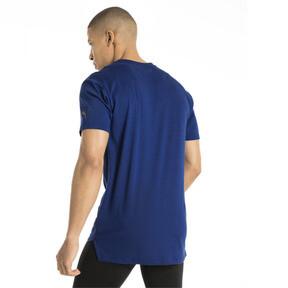 Thumbnail 3 of Energy Triblend Graphic Men's Running Tee, Sodalite Blue, medium