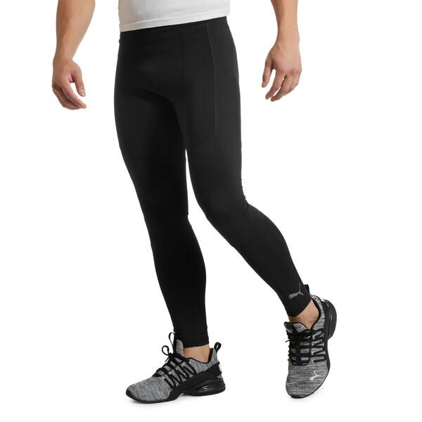 Energy Tech Men's Running Tights, Puma Black, large