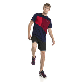 Thumbnail 5 of Running Herren IGNITE T-Shirt, Peacoat-Pomegranate-Q3, medium