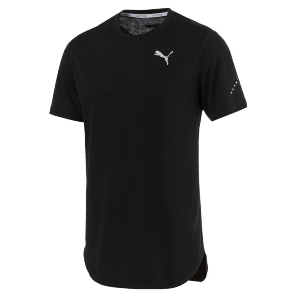 Triblend Men's Tee, Puma Black, large