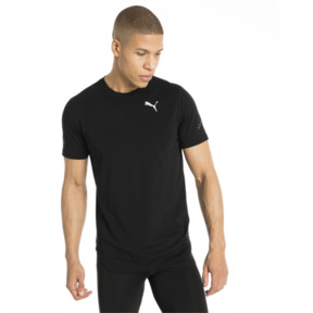 Thumbnail 2 of Triblend Men's Tee, Puma Black, medium