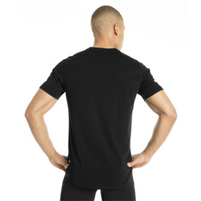 Thumbnail 3 of Triblend Men's Tee, Puma Black, medium