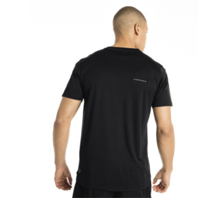 Thumbnail 3 of Running Herren IGNITE Graphic T-Shirt, Puma Black-Iron Gate printQ3, medium