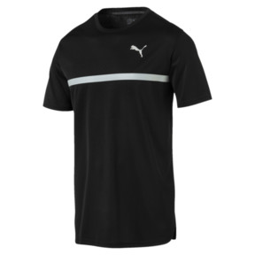 Thumbnail 1 of IGNITE Graphic Men's Running Tee, Puma Black-Iron Gate printQ4, medium