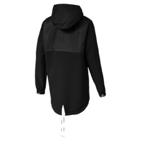 Thumbnail 4 of NeverRunBack Protect Zip-Up Hooded Men's Jacket, Puma Black, medium