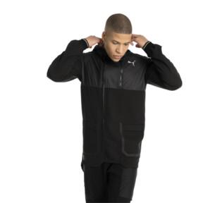 Thumbnail 2 of NeverRunBack Protect Zip-Up Hooded Men's Jacket, Puma Black, medium