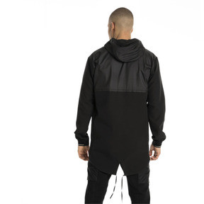 Thumbnail 3 of NeverRunBack Protect Zip-Up Hooded Men's Jacket, Puma Black, medium