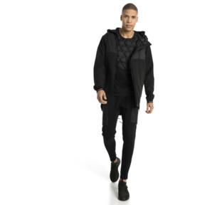 Thumbnail 5 of NeverRunBack Protect Zip-Up Hooded Men's Jacket, Puma Black, medium