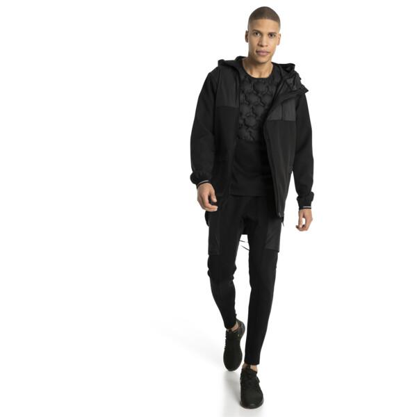 NeverRunBack Protect Zip-Up Hooded Men's Jacket, Puma Black, large