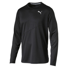 Thumbnail 1 of Ignite Long Sleeve Men's Training Top, Puma Black, medium