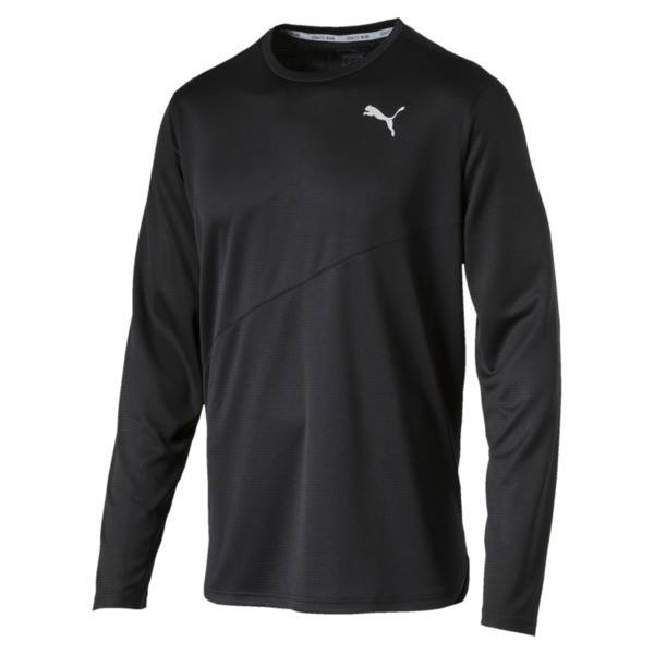 Ignite Long Sleeve Men's Training Top, Puma Black, large