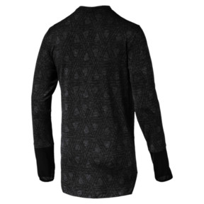 Thumbnail 4 of Energy Long Sleeve Tech Men's Running Top, Puma Black, medium
