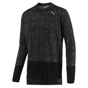Thumbnail 1 of Energy Long Sleeve Tech Men's Running Top, Puma Black, medium