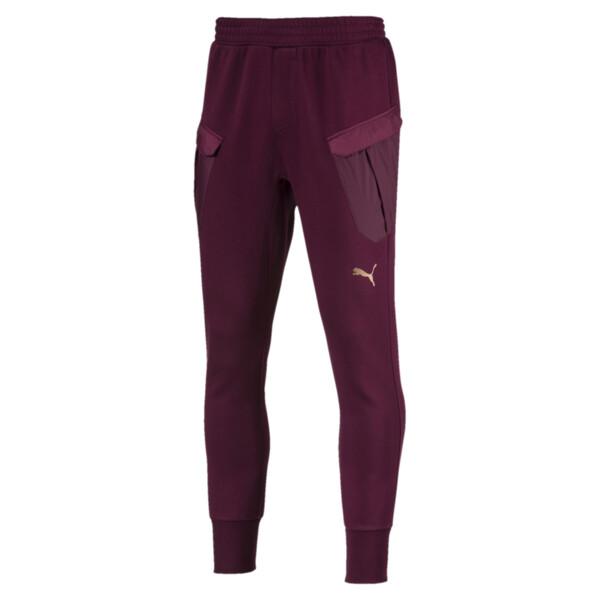 Energy Actum Men's Running Sweatpants, Fig, large