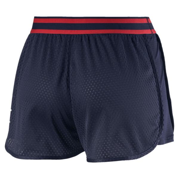 A.C.E. Mesh Women's Shorts, Peacoat, large
