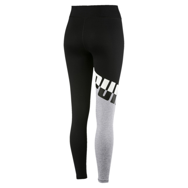 Training Women's A.C.E. All Me 7/8 Tights, Puma Black-LightGray Heather, large