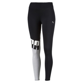 Thumbnail 1 of Training Women's A.C.E. All Me 7/8 Tights, Puma Black-LightGray Heather, medium