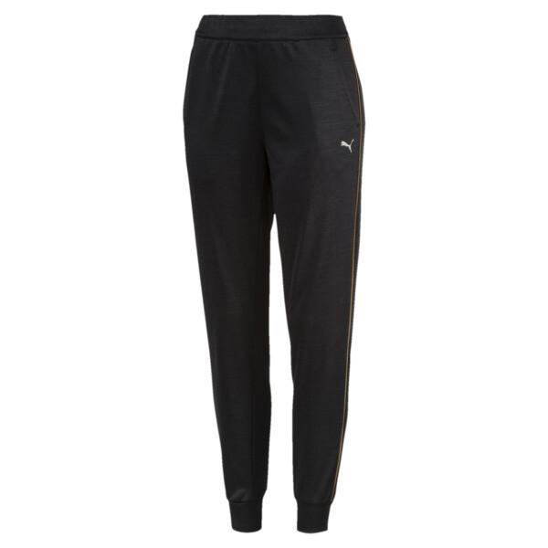 Be Ready Women's Sweatpants, Puma Black Heather, large
