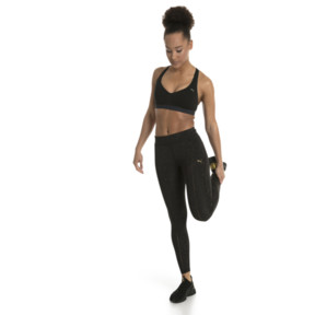 Thumbnail 5 of Training Damen Lite Mid/High Impact BH-Top, Puma Black, medium