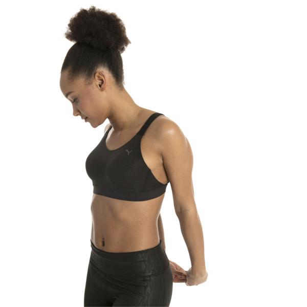 Control High Impact Women's Bra Top, Puma Black, large