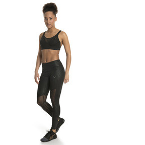 Thumbnail 3 of Control High Impact Women's Bra Top, Puma Black, medium