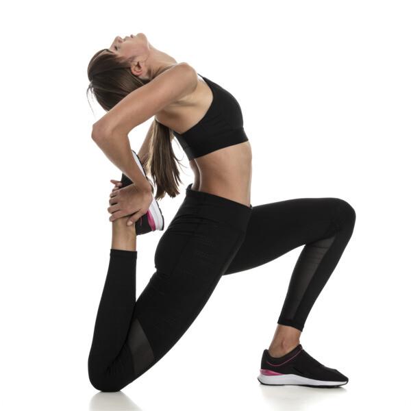 Training Damen Mid Impact Logo BH-Top, Puma Black, large