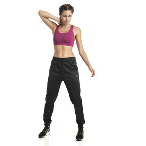 Thumbnail 3 of Training Damen 4Keeps Mid Impact BH-Top, Magenta Haze-PUMA back, medium