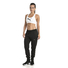 Thumbnail 3 of 4Keeps Mid Impact Women's Bra Top, Puma White-CAT, medium