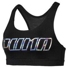 Thumbnail 4 of Training Damen 4Keeps Mid Impact BH-Top, Black-Holographic CF PUMA, medium