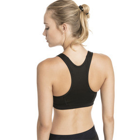 Thumbnail 2 of 4Keeps Mid Impact Women's Bra Top, Black-Holographic CF PUMA, medium