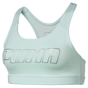 Thumbnail 4 of 4Keeps Mid Impact Women's Bra Top, Fair Aqua-Silver PUMA, medium