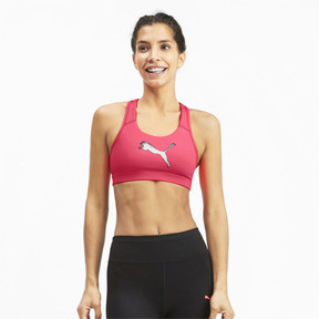 Thumbnail 1 of 4Keeps Mid Impact Women's Bra Top, Pink Alert, medium