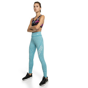 Thumbnail 3 of Training Damen 4Keeps Graphic Mid Impact BH-Top, black-Multi color graphic, medium