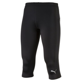 Thumbnail 1 of IGNITE 3/4 Men's Running Leggings, Puma Black, medium